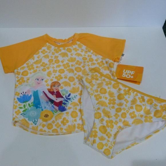 5371d02209624 Disney Swim | Suit Frozen Girls Size 910 Nwt E1 | Poshmark